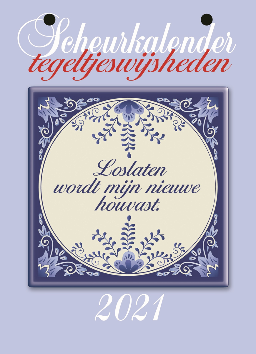 Tegeltjeswijshedenscheurkalender 2021 - Edicola